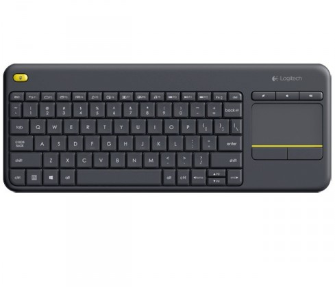 SMART klávesnice Logitech Wireless Touch Keyboard K400 Plus