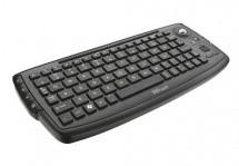 SMART klávesnice Trust Compact Wireless Entertainment Keyboard USB CZ, černá ROZBA