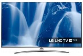 """Smart televize LG 55UM7610 (2019) / 55"""" (139 cm) + dárek český hokejový dres"""