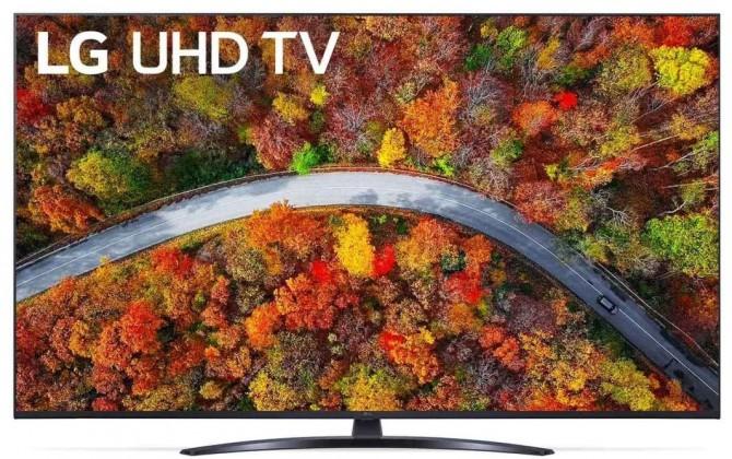"""Smart televize LG 55UP8100 (2021) / 55"""" (139 cm)"""