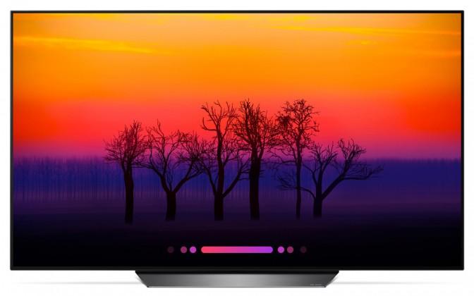 "Smart televize LG OLED55B8PLA (2018) / 55"" (139 cm)"