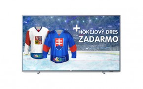 """Smart televize Philips 65PUS6523 (2018) / 65"""" (164 cm) + Hokejový dres v hodnotě 990,- ZDARMA!"""