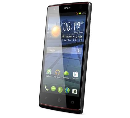 Smartphone Acer Liquid E3 černý ROZBALENO