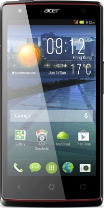 Smartphone Acer Liquid E3 stříbrný
