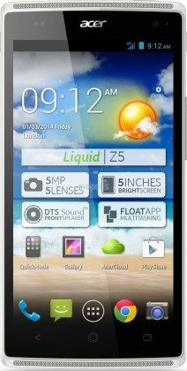 Smartphone Acer Liquid Z5 bílý