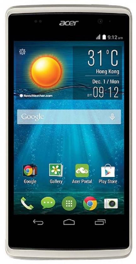 Smartphone Acer Liquid Z500 šedý