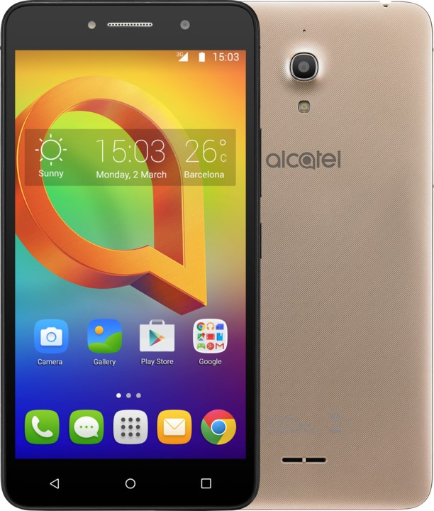 Smartphone Alcatel A2 XL 8050D Metallic Gold