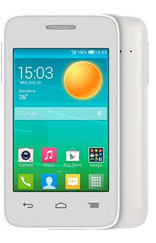 Smartphone ALCATEL ONETOUCH 4018D POP D1 Full White