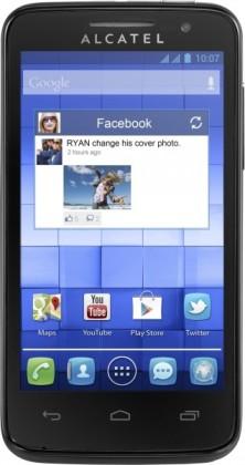 Smartphone ALCATEL ONETOUCH 5020D M´POP Pure Black
