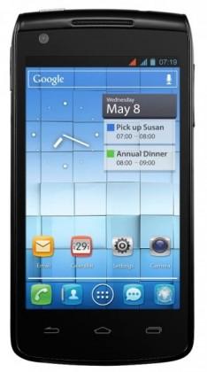 Smartphone ALCATEL ONETOUCH 992D Black