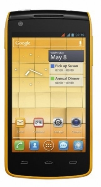 Smartphone ALCATEL ONETOUCH 992D Yellow