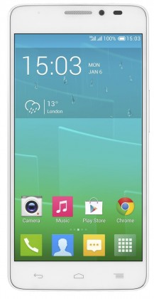 Smartphone ALCATEL ONETOUCH IDOL X+ (6043D) White