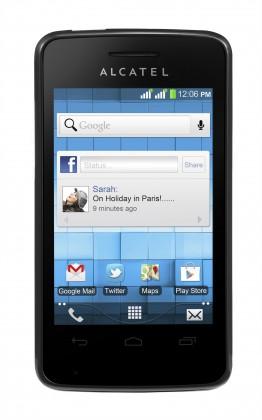 Smartphone ALCATEL ONETOUCH OKAY (4007D) White