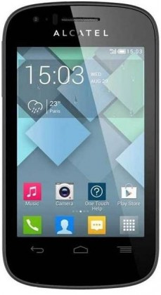 Smartphone ALCATEL ONETOUCH POP C3 (4033D) Black