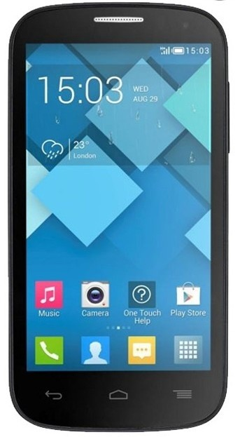 Smartphone ALCATEL ONETOUCH POP C5 (5036D) Dark Grey ROZBALENO
