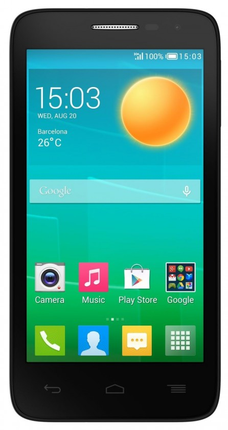 Smartphone ALCATEL ONETOUCH POP D5 (5038D) Dark Chocolate