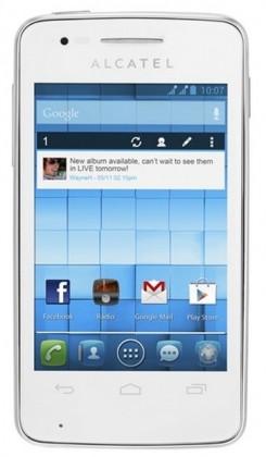 Smartphone ALCATEL ONETOUCH S´POP (4030D) Pure White