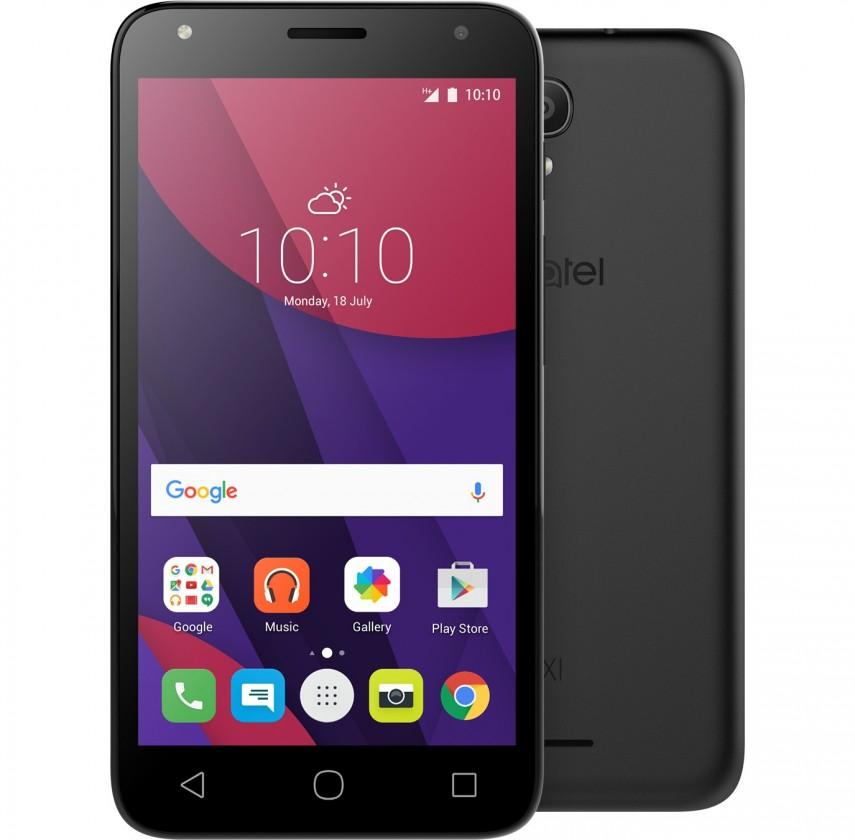 Smartphone Alcatel OT-5010D PIXI 4, černá