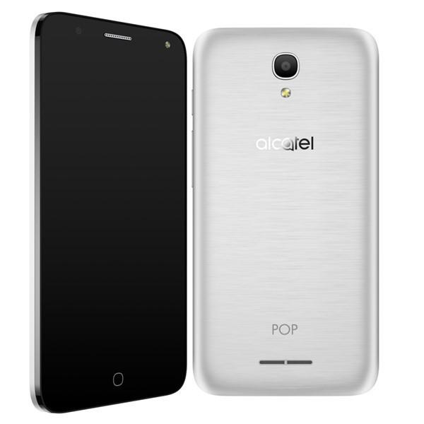 Smartphone Alcatel OT-5051D POP 4, stříbrná
