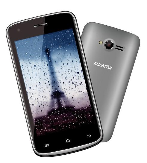 Smartphone Aligator S4000 Duo Grey ROZBALENO