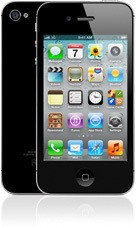 Smartphone Apple iPhone 4S 16GB Black