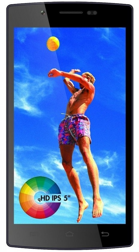Smartphone Cube1 G503 (Dual SIM) Black POUŽITÉ, NEOPOTŘEBENÉ ZBOŽÍ