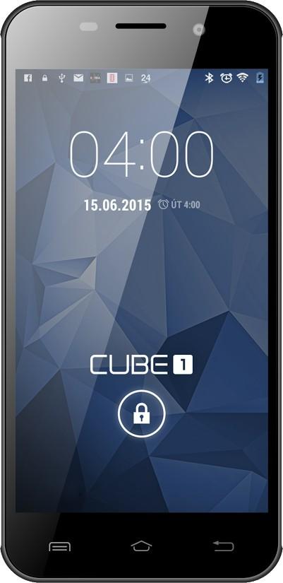 Smartphone CUBE1 M400 Black POUŽITÉ, NEOPOTŘEBENÉ ZBOŽÍ