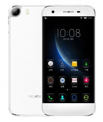 Smartphone DOOGEE F3, bílá