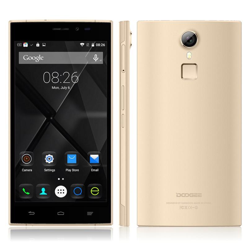 Smartphone DOOGEE F5, zlatá