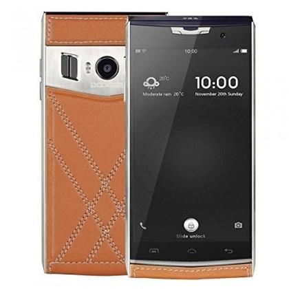 Smartphone DOOGEE T3, Dual SIM, LTE, 32GB, hnědá