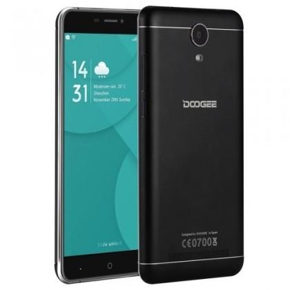 Smartphone DOOGEE X7, Dual SIM, 16GB, šedá