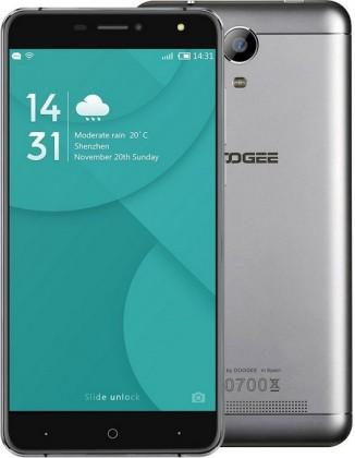 Smartphone DOOGEE X7, stříbrná