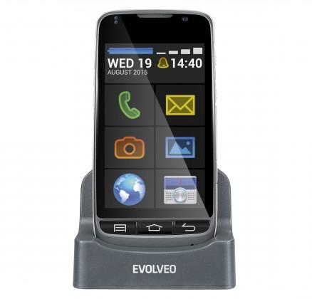 Smartphone Evolveo EasyPhone D2, černá POUŽITÉ, NEOPOTŘEBENÉ ZBOŽÍ