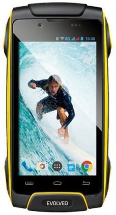 Smartphone Evolveo StrongPhone Q8 LTE, žlutá