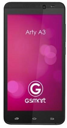 Smartphone Gigabyte GSmart ARTY A3 Black ROZBALENO