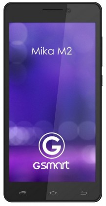 Smartphone Gigabyte GSmart MIKA M2 Black ROZBALENO