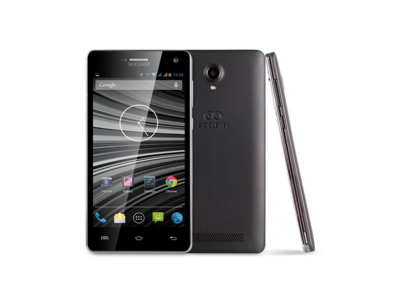 Smartphone GOCLEVER Insignia 500 Dual SIM; black ROZBALENO