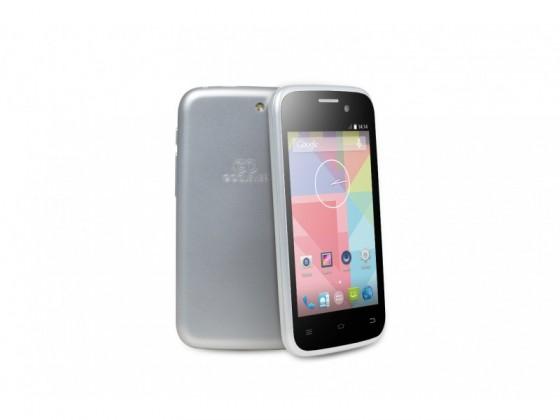 Smartphone GOCLEVER Quantum2 400 Dual SIM; silver