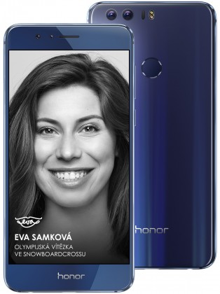 Smartphone Honor 8 64GB Premium, modrá