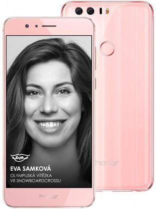 Smartphone Honor 8 64GB Premium Sakura, růžová