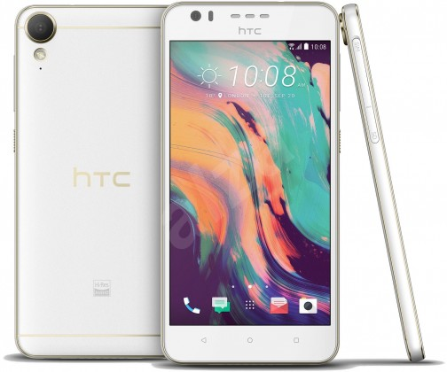 Smartphone HTC Desire 10 Lifestyle, bílá