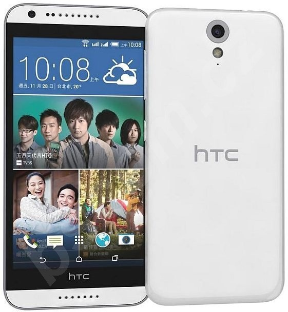 Smartphone HTC Desire 620 (A31) Gloss White/Light Grey Trim