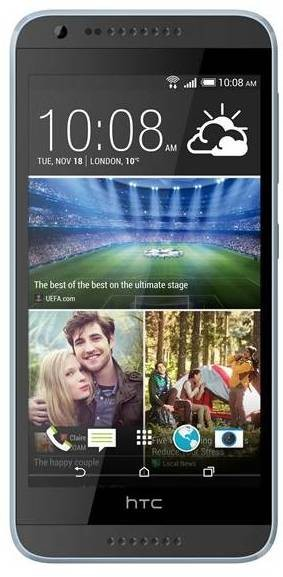 Smartphone HTC Desire 620 (A31) Matt Grey/Light Grey trim