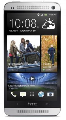 Smartphone HTC One Silver