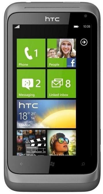 Smartphone HTC Radar Metal Silver