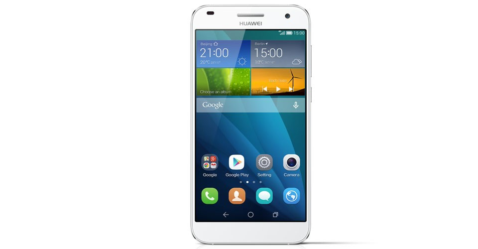 Smartphone HUAWEI G7 Silver