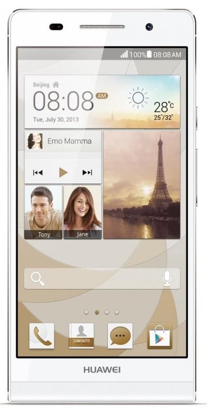 Smartphone HUAWEI P7 White