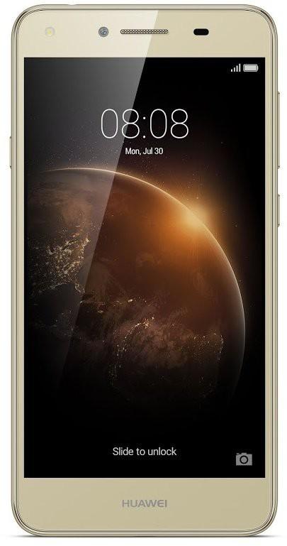 Smartphone Huawei Y6 II Compact Dual Sim, zlatá