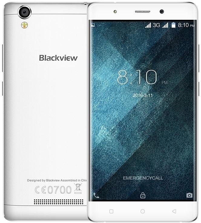 Smartphone iGet Blackview A8, bílý