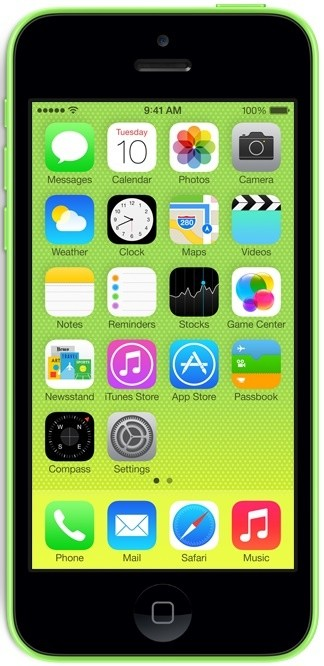 Smartphone iPhone 5c 16GB Green
